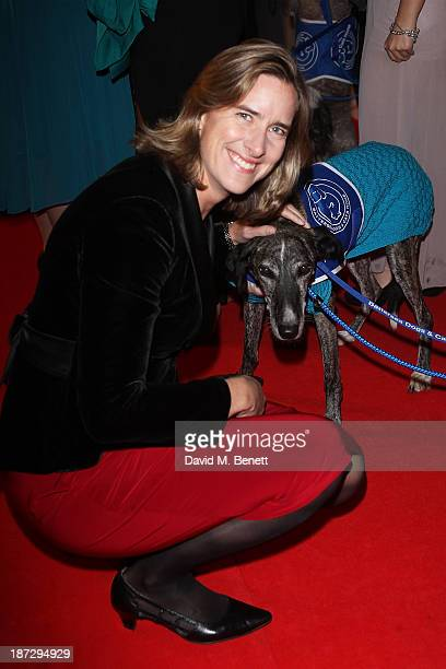 Katherine Grainger CBE attends the annual Collars and Coats gala ball in aid of Battersea Dogs Cats home at Battersea Evolution on November 7 2013 in...