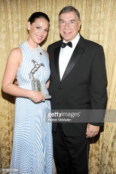 Katherine Heigl and Ed Sayres attend 13th Annual ASPCA Bergh Ball at The Plaza on April 15 2010 in New York City