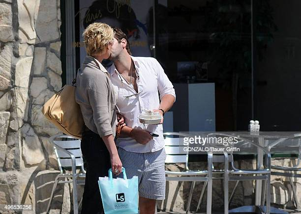 Katherine Heigl and husband Josh Kelley are seen on May 10 2011 in Los Angeles California