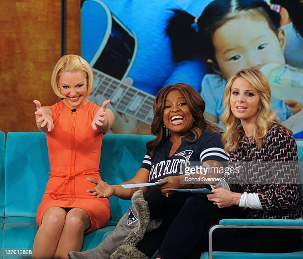 THE VIEW Katherine Heigl and Janet Evanovich appeared today on The View The View airs MondayFriday on the Walt Disney Television via Getty Images...
