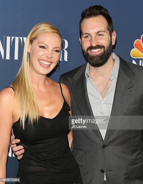 Katherine Heigl and Josh Kelley attend the NBC And Vanity Fair 20142015 TV Season Red Carpet Media Event on September 15 in West Hollywood California