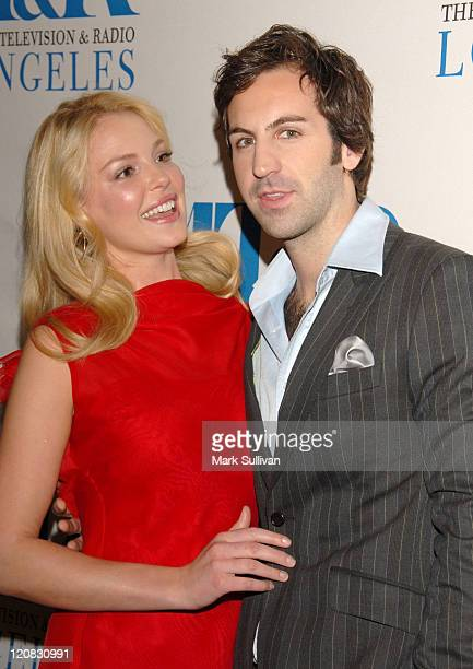 Katherine Heigl and Josh Kelley during 2006 William S Paley Television Festival Grey's Anatomy in Los Angeles California United States