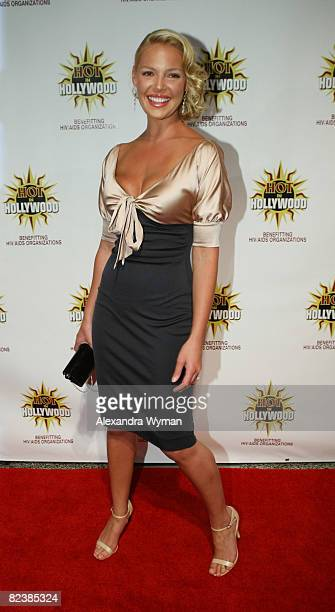 Katherine Heigl arrives at the 3rd Annual Hot In Hollywood Event on August 16 2008 in Hollywood California
