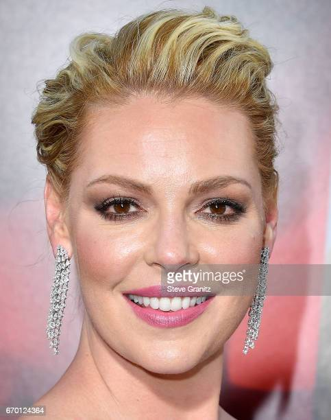 "Katherine Heigl arrives at the Premiere Of Warner Bros. Pictures' ""Unforgettable"" at TCL Chinese Theatre on April 18, 2017 in Hollywood, California."