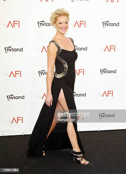 Katherine Heigl arrives at TV Land Presents AFI Life Achievement Award honoring Shirley MacLaine held at Sony Studios on June 7 2012 in Los Angeles...