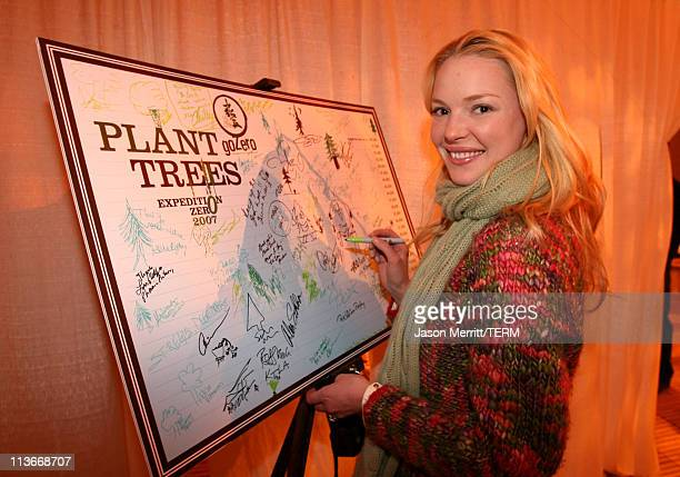 Katherine Heigl at Go Zero EXPEDITION ZERO at The Ice Lounge presented by The North Face, Lexus and St. Regis.*Exclusive*