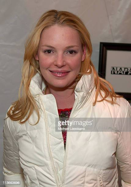 Katherine Heigl at Napapijri at The Ice Lounge presented by The North Face, Lexus, and St. Regis.*Exclusive*