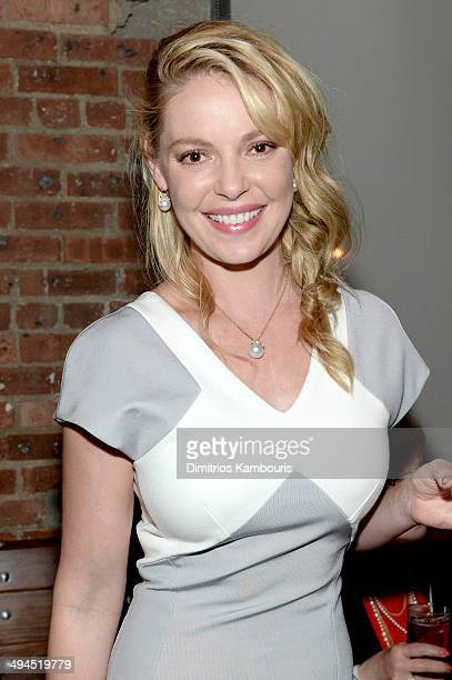 Katherine Heigl attends the 2014 CAA Upfronts party on May 12 2014 in New York City