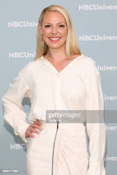 Katherine Heigl attends the 2018 NBCUniversal Upfront Presentation at Rockefeller Center on May 14, 2018 in New York City.