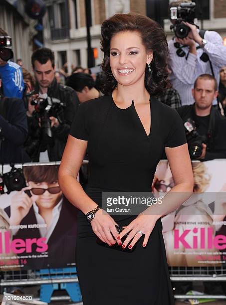 """Katherine Heigl attends the European Film Premiere of """"Killers"""" at the Odeon West End on June 9, 2010 in London, England."""