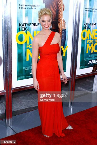 Katherine Heigl attends the One for the Money premiere at the AMC Loews Lincoln Square on January 24 2012 in New York City