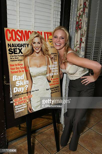 Katherine Heigl /Cosmo cover unveiling *EXCLUSIVE*