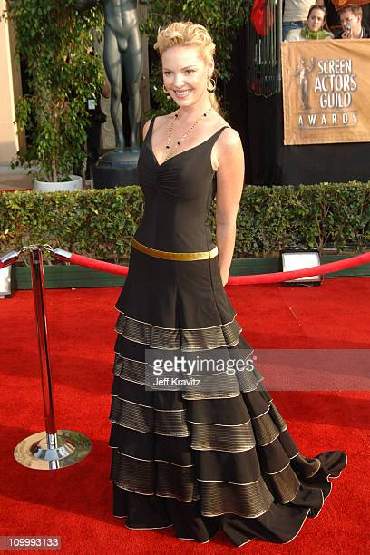 Katherine Heigl during 12th Annual Screen Actors Guild Awards Arrivals at Shrine Auditorium in Los Angeles CA United States