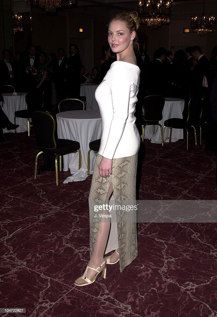 Katherine Heigl during 2001 ACE Eddie Awards at Beverly Hilton in Los Angeles, California, United States.