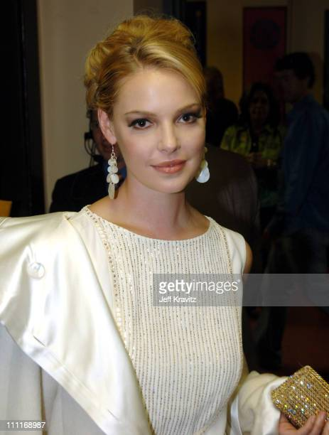 Katherine Heigl during 33rd Annual American Music Awards Backstage at Shrine Auditorium in Los Angeles California United States