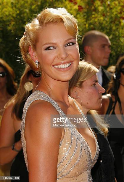 Katherine Heigl during 58th Annual Primetime Emmy Awards Arrivals at Shrine Auditorium in Los Angeles California United States
