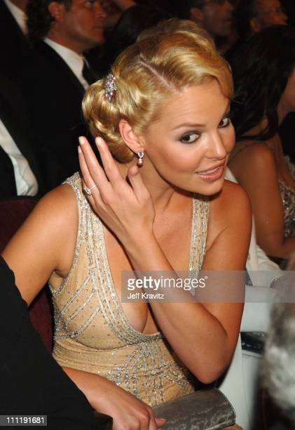 Katherine Heigl during 58th Annual Primetime Emmy Awards Audience at The Shrine Auditorium in Los Angeles California United States