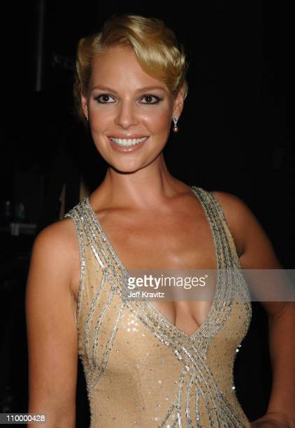 Katherine Heigl during 58th Annual Primetime Emmy Awards Backstage at The Shrine Auditorium in Los Angeles California United States