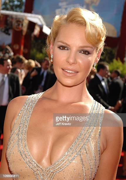 Katherine Heigl during 58th Annual Primetime Emmy Awards Red Carpet at The Shrine Auditorium in Los Angeles California United States