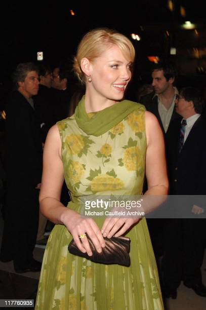 Katherine Heigl during Fox Searchlight Pictures' 'The Ringer' Los Angeles Premiere at Directors Guild of America in Hollywood California United States