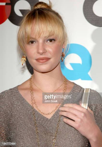 Katherine Heigl during GQ Magazine Celebrates the 2005 Men of the Year Arrivals at Mr Chow in Beverly Hills California United States