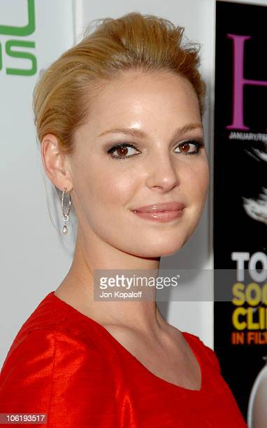 Katherine Heigl during Movieline's Hollywood Life 9th Annual Young Hollywood Awards Arrivals at Music Box at The Fonda in Hollywood California United...