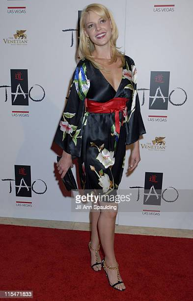 Katherine Heigl during TAO Las Vegas First Anniversary Weekend Janet Jackson Album Release Party Red Carpet Arrivals at The Venetian Resort Hotel...