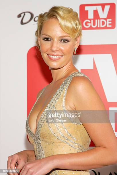 Katherine Heigl during TV Guide Emmy After Party Red Carpet at Social in Los Angeles California United States