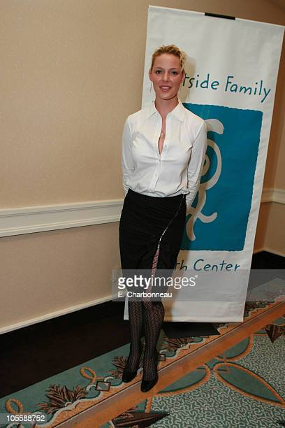 Katherine Heigl during Westside Family Health Center Honors Grey's Anatomy Star Katherine Heigl at Fairmont Miramar Hotel in Santa Monica CA United...