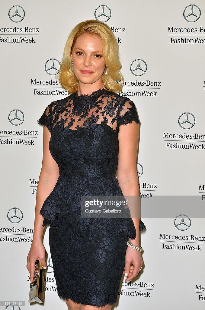 Katherine Heigl is seen around lincoln Center - Day 5 - Fall 2013 Mercedes-Benz Fashion Week at Lincoln Center for the Performing Arts on February 11, 2013 in New York City.