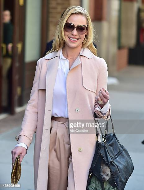 Katherine Heigl is seen in Tribeca on November 13 2014 in New York City