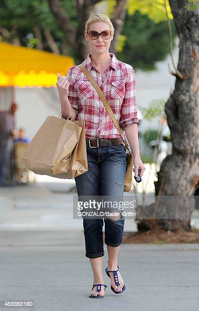 Katherine Heigl is seen on February 14 2012 in Los Angeles California