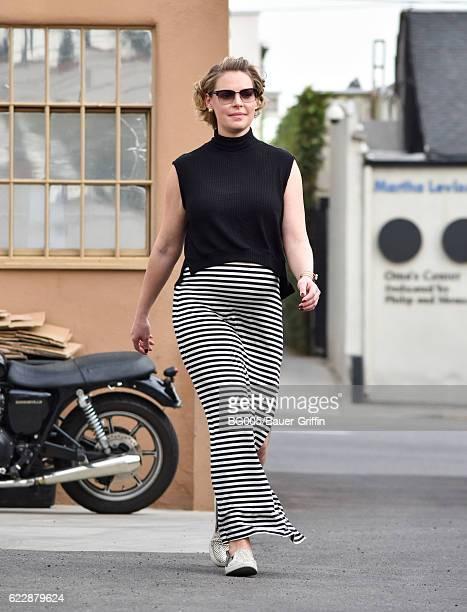 Katherine Heigl is seen on November 12 2016 in Los Angeles California