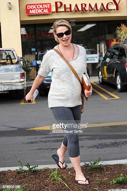 Katherine Heigl is seen on October 28 2016 in Los Angeles California