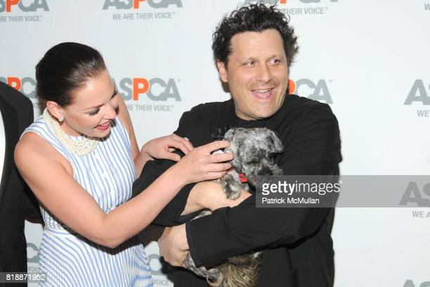 Katherine Heigl Isaac Mizrahi and Philly the Dog attend 13th Annual ASPCA Bergh Ball at The Plaza on April 15 2010 in New York City