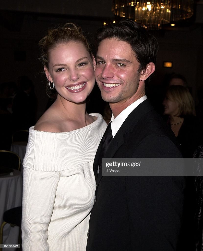 Katherine Heigl & Jason Behr during 2001 ACE Eddie Awards at Beverly Hilton in Los Angeles, California, United States.