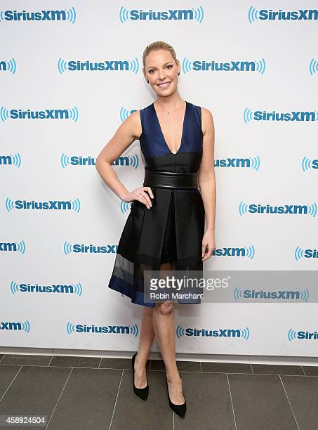 Katherine Heigl visits at SiriusXM Studios on November 13 2014 in New York City