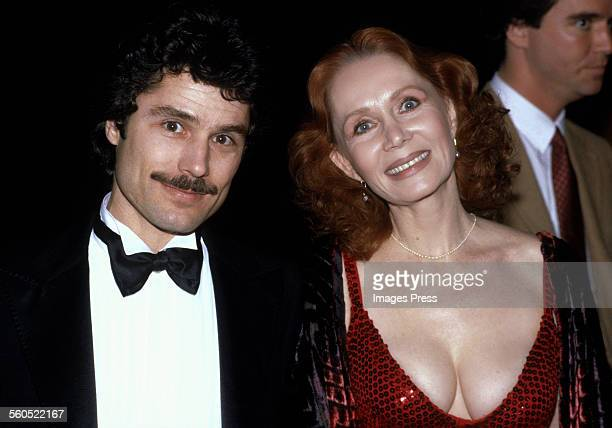 Katherine Helmond and husband David Christian circa 1981 in Los Angeles, California.