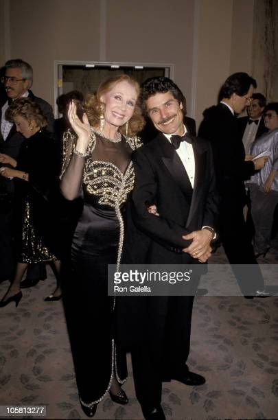 Katherine Helmond and Husband during 43rd Annual Golden Globe Awards at Beverly Hilton Hotel in Beverly Hills, California, United States.