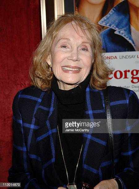 Katherine Helmond during Georgia Rule New York City Premiere Arrivals at Ziegfeld Theatre in New York City New York United States