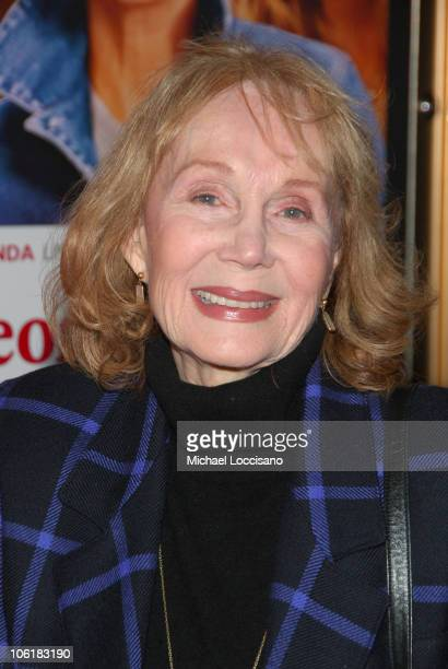 "Katherine Helmond during ""Georgia Rule"" New York City Premiere - Inside Arrivals at Zigfeld Theatre in New York City, New York, United States."