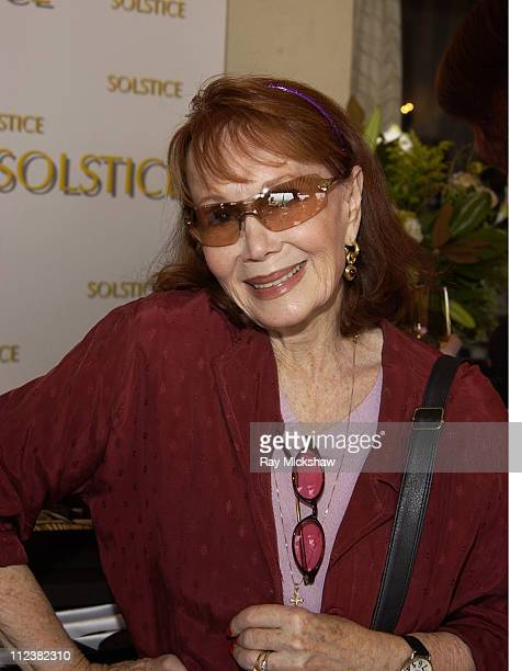 Katherine Helmond during Safilo Partners with Solstice Sunglass Store Cain at The Cabana Beauty Buffet - Day 1 at Chateau Marmont in Hollywood,...