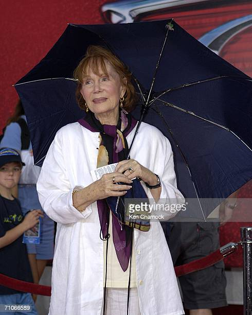 Katherine Helmond voice of Lizzie attends the world premiere screening of the Disney and PIXAR movie Cars at Lowe's Motor Speedway on May 26 2006 in...