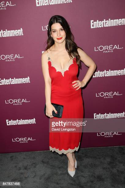 Katherine Herzer attends the Entertainment Weekly's 2017 PreEmmy Party at the Sunset Tower Hotel on September 15 2017 in West Hollywood California