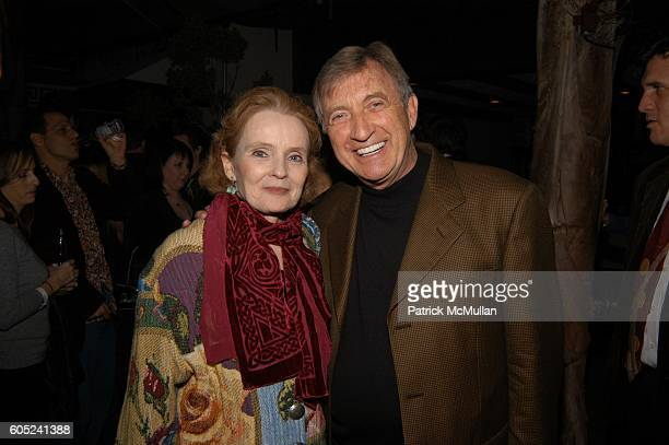 Katherine Houghton and Ken Jenkins attend Scrubs Stars to celebrate the show's 100th episode Inside at Cabana Club on January 14 2006 in Los Angeles...