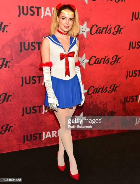Katherine Hughes attends Just Jared's 7th Annual Halloween Party at Goya Studios on October 27 2018 in Los Angeles California