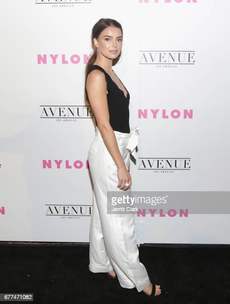 Katherine Hughes attends NYLON's Annual Young Hollywood May Issue Event With Cover Star Rowan Blanchard at Avenue on May 2 2017 in Los Angeles...