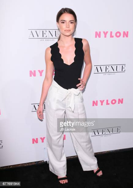 Katherine Hughes attends the NYLON Young Hollywood Party at AVENUE Los Angeles on May 2 2017 in Los Angeles California