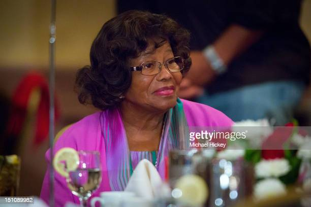 Katherine Jackson appears at 'Goin' Back to Indiana Can You Feel It' the Gary Indiana Chamber of Commerce's event honoring Katherine Jackson at the...