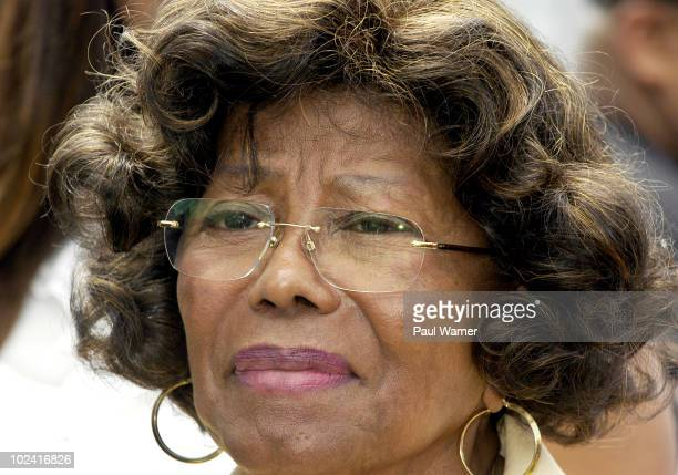 Katherine Jackson appears at her former home for the one year anniversary of Michael Jackson's death on June 25 2010 in Gary Indiana
